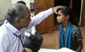 Anandhi-Eye-check-up